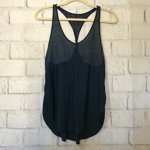 Lululemon Athletica Size 6 Tank Top Twist & Train